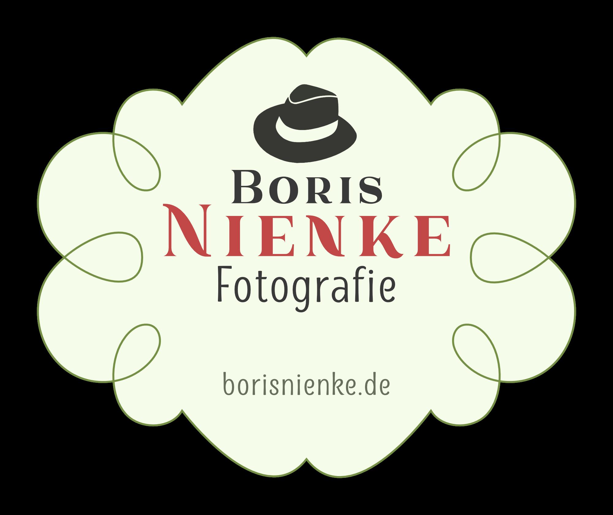 Boris Nienke Fotografie Logo Badge